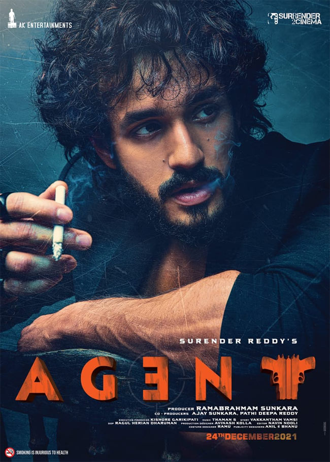 Akhil Agent First Look