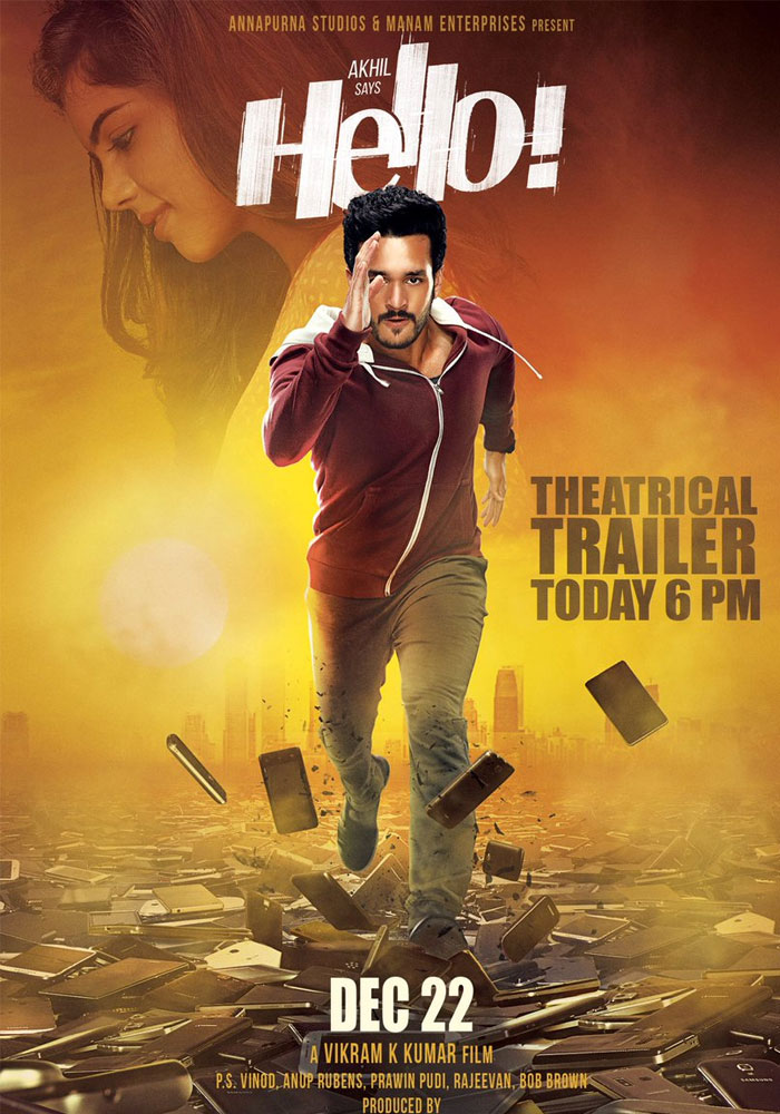 Akhil's Hello Theatrical Trailer Released