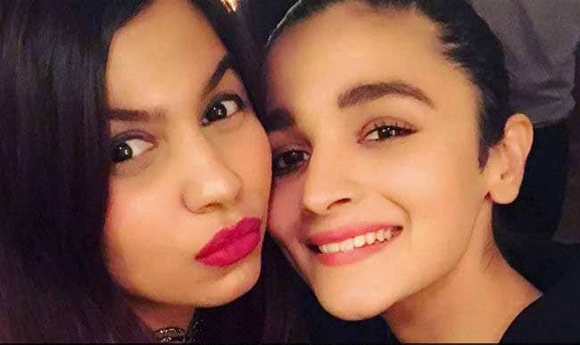 Alia Bhatt about sister Shaheen