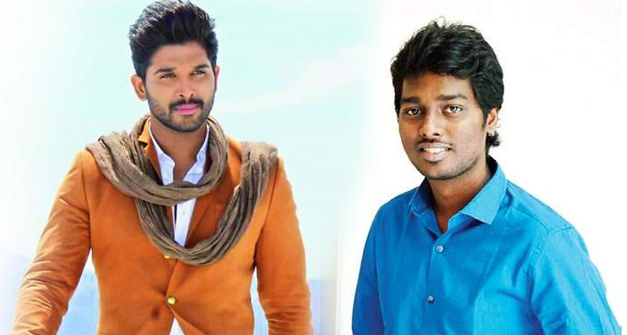 Allu Arjun and Atlee