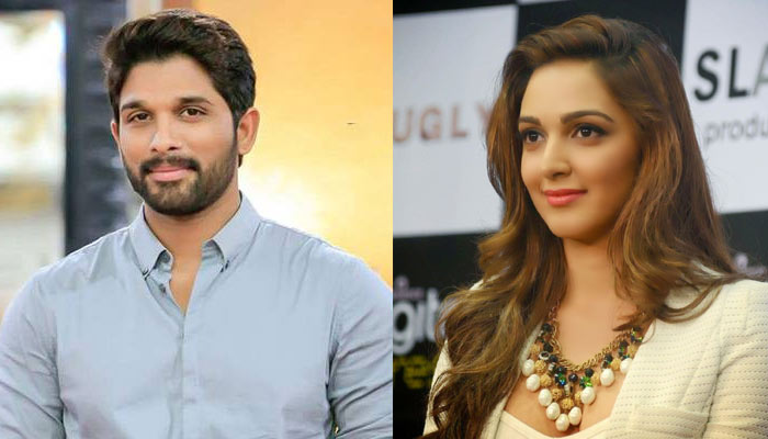 Allu Arjun And Kiara Advani