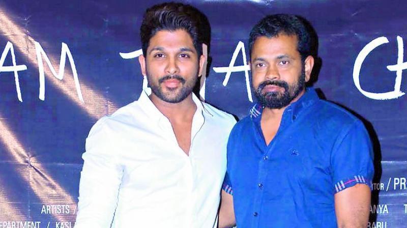 Allu Arjun and Sukumar's Film Soon