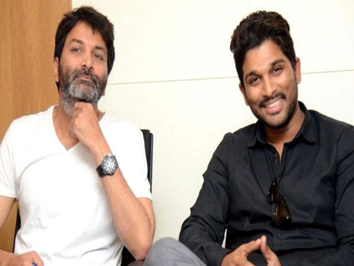 Allu Arjun And Trivikram Srinivas