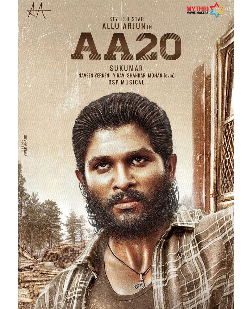 Allu Arjun's First Look on April 8?