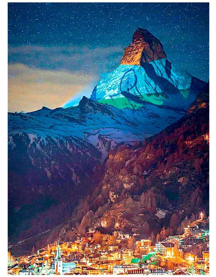 Allu Arjun impressed with Touching Gesture of Switzerland