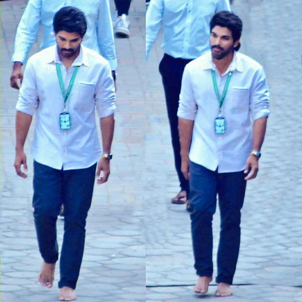 Allu Arjun Leaked Photos