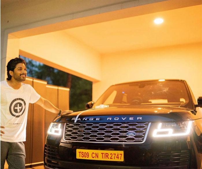 Allu Arjun Purchases Range Rover