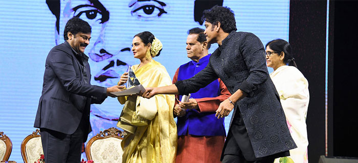 ANR Awards to Sridevi and Rekha