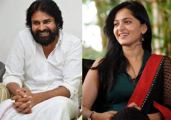 Anushka Waiting For a Chance Besides Pawan Kalyan