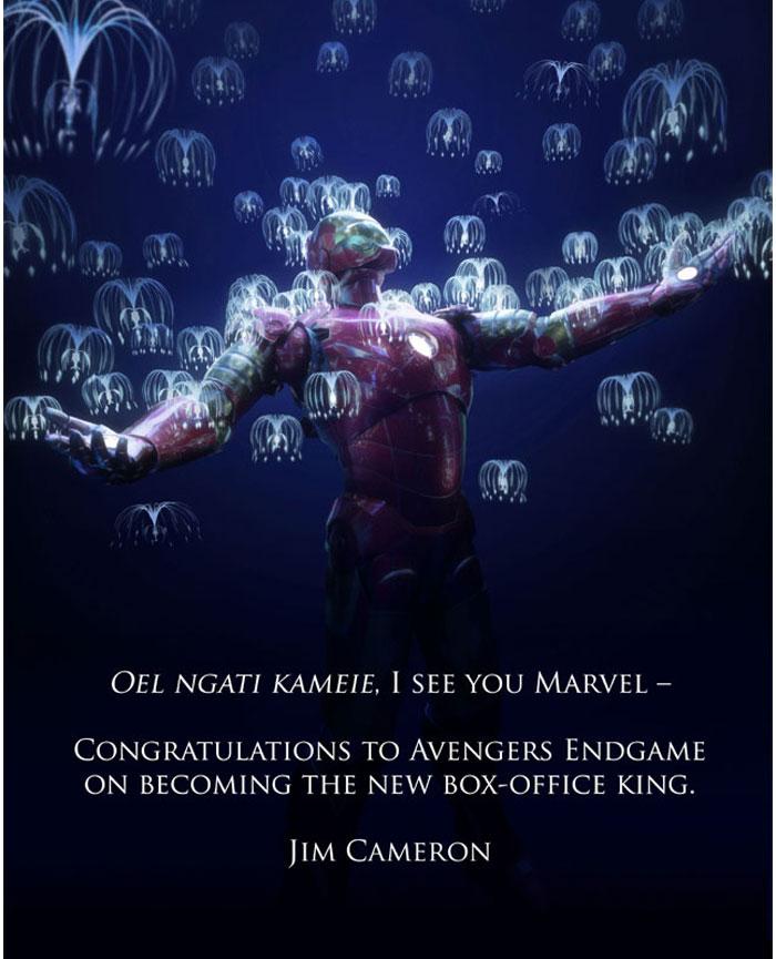 Avengers Endgame New Number One Film