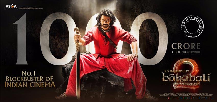 Baahubali 2 Box Office Report - 1000 Crores