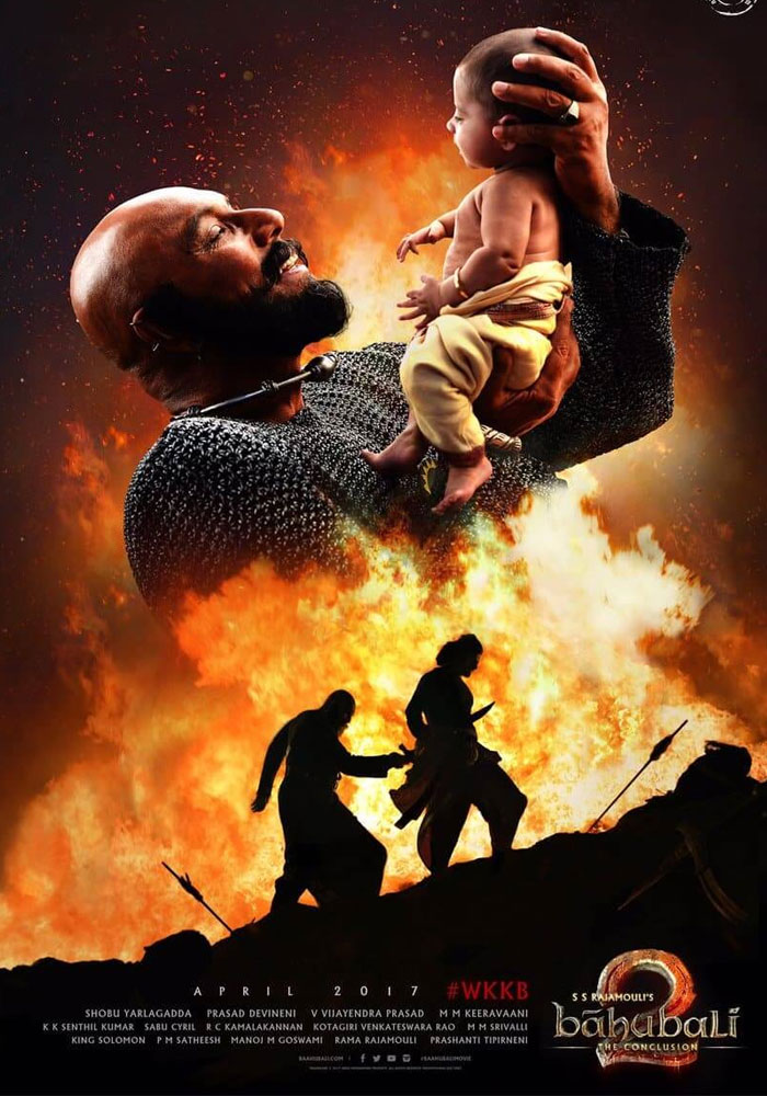 Baahubali 2 First Day World Wide Collections