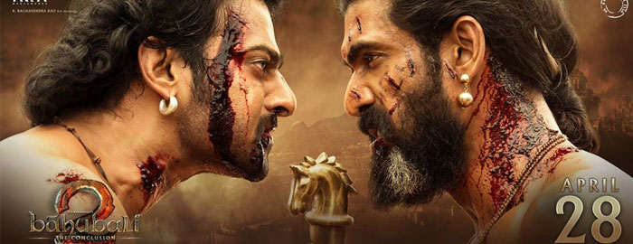 Baahubali 2's Shocking Day 2 Collections in Bollywood