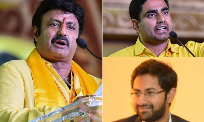 Balakrishna and His Sons-in-Law