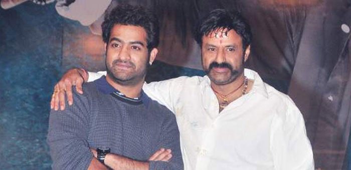 Balakrishna And Jr NTR