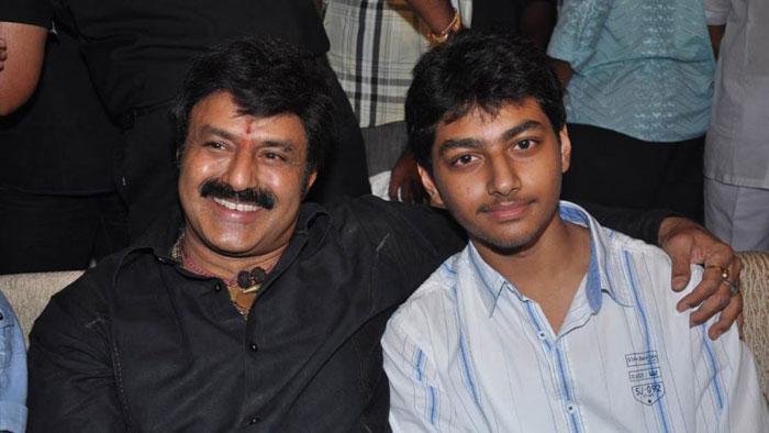 Balakrishna And Mokshagna