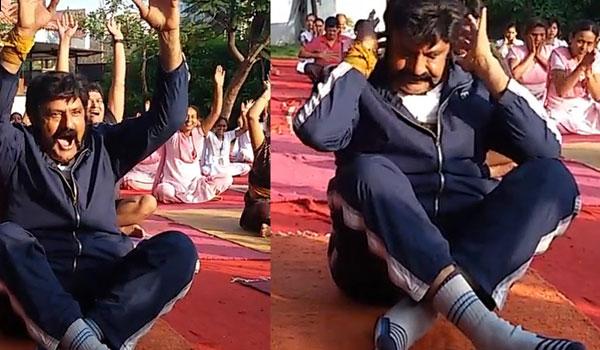 Balakrishna Grows Weight