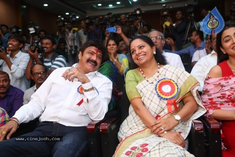 Balakrishna with Kavitha