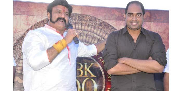 Balakrishna with Krish