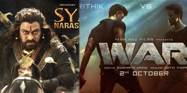 Box Office Collections War Vs Sye Raa