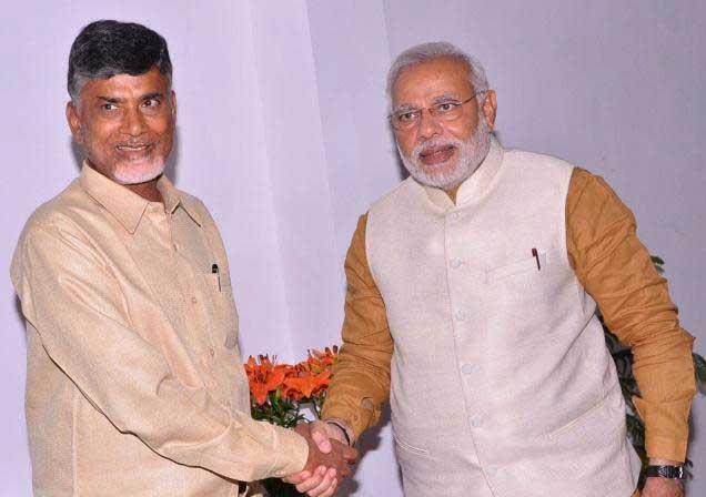 CBN Forgets Telugu Athmagauravam!