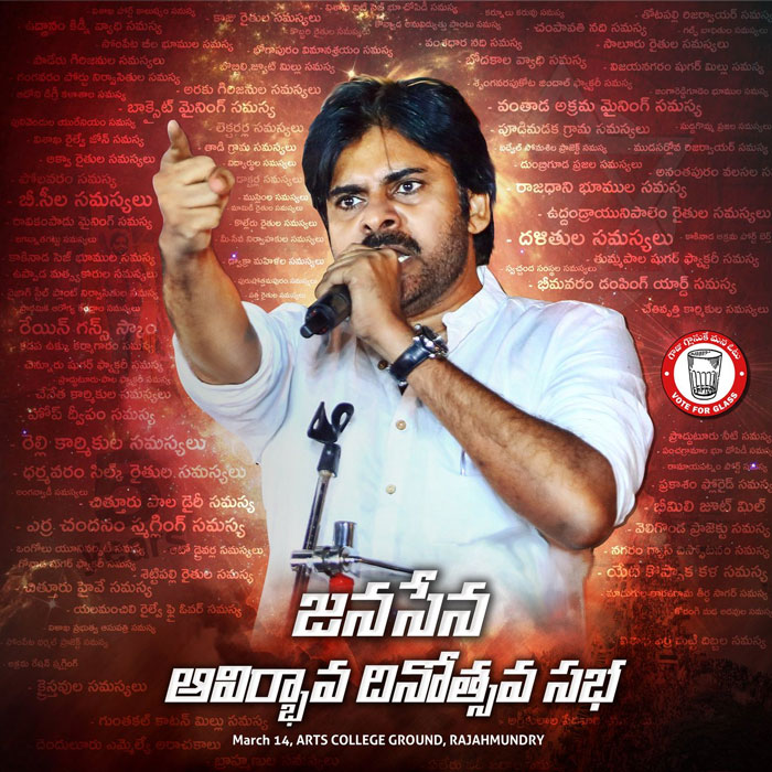 Channel's No Coverage on Janasena 5th Anniversay