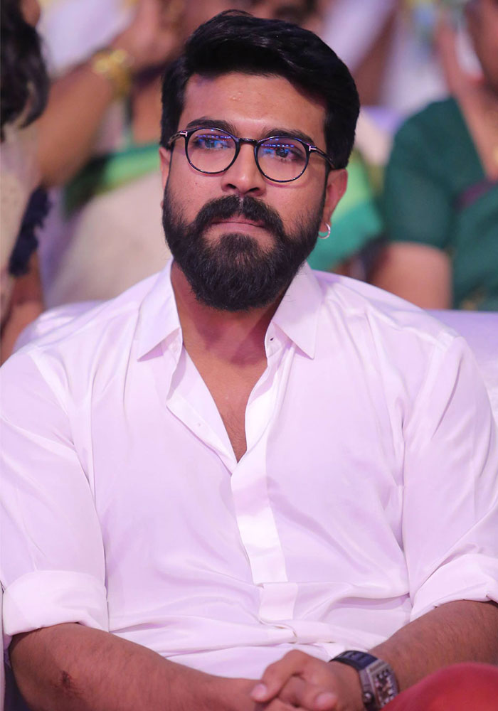 Charan's Next a Zero Hype Film! Title Confirmed!