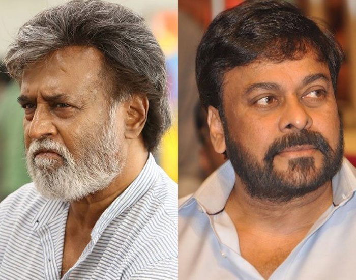 Chiranjeevi and Rajinikanth Working with Siva and Siva