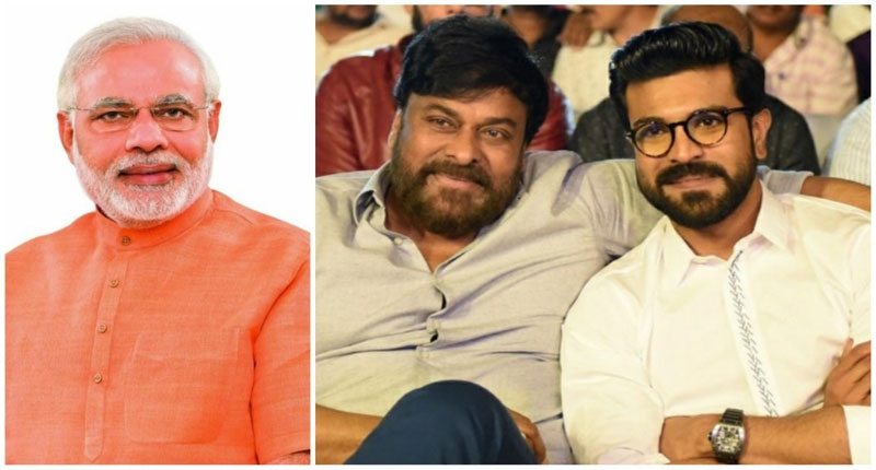 Chiranjeevi and Ram Charan's Appeal to People on Modi's Call