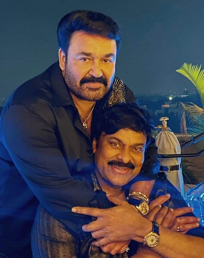 Chiranjeevi's Birthday Wishes to Mohan Lal