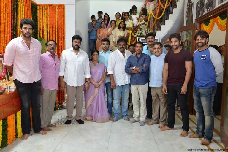 Chiranjeevi's Comeback Film Launched