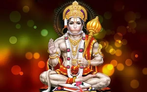 Chiranjeevi Lord Hanuman Jayanthi Special Bonding
