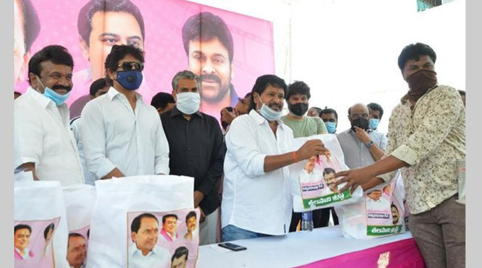 Chiranjeevi's Pics Along with KCR in Talasani Charity: So Is Jealousy
