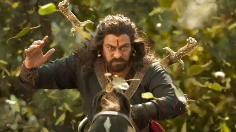 Chiranjeevi's Romantic Song in Sye Raa