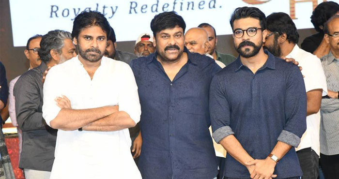 Chiru, Pawan, Charan: Telugu, Hindi, English Titles!
