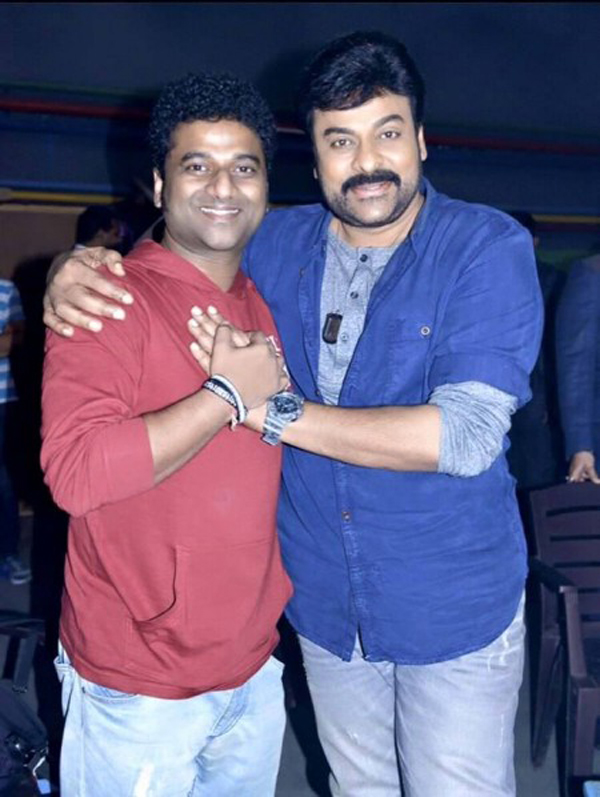 Chiru's tensions and best compliments