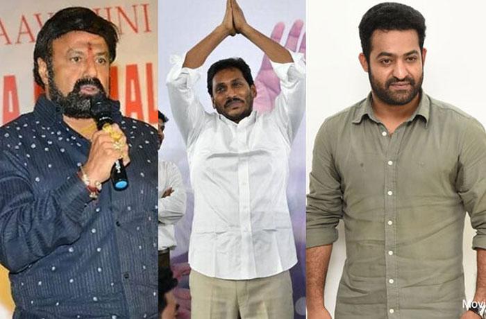 CM Jagan to Give Caste Nandi Awards to Balakrishna, NTR?
