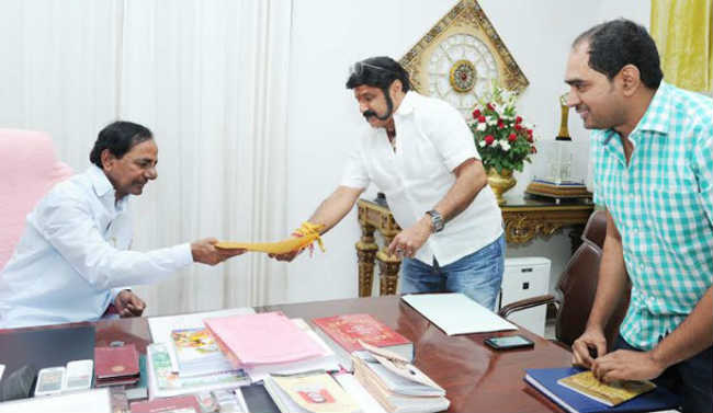 CM KCR is Chief Guest For Balakrishna 100th Film Launch