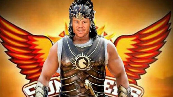 David Warner Baahubali