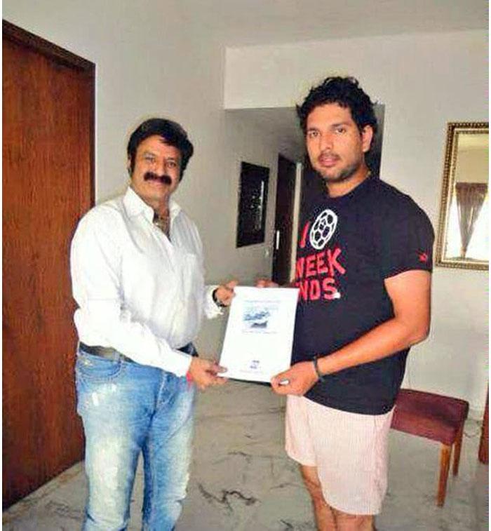 Dear Balayya Fans! Yuvaraj Helped Balakrishna, Not Balayya to Yuvi