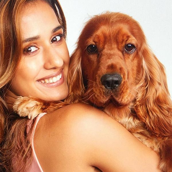 Disha Patani Pet Dog Bella