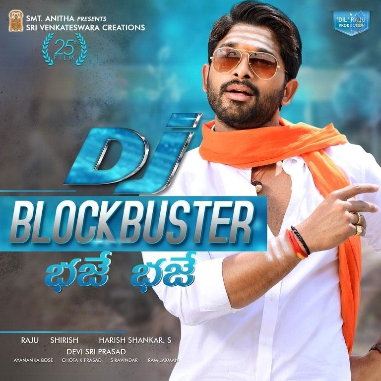 DJ Duvvada Jagannadham Two Days Shares
