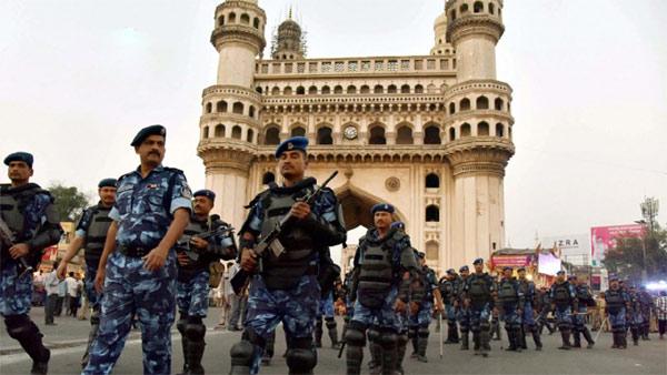 High alert in Hyderabad