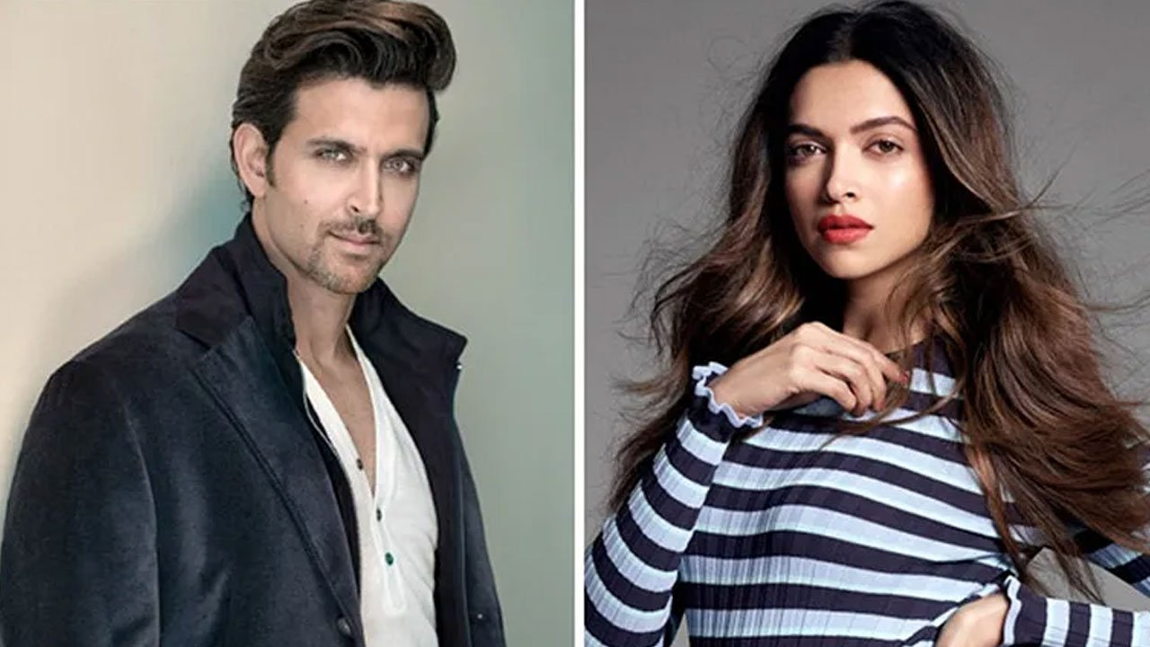 Hrithik and Deepika