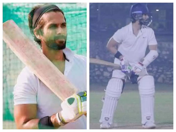 Indian Cricketers Helping Shahid Kapoor For Jersey Remake