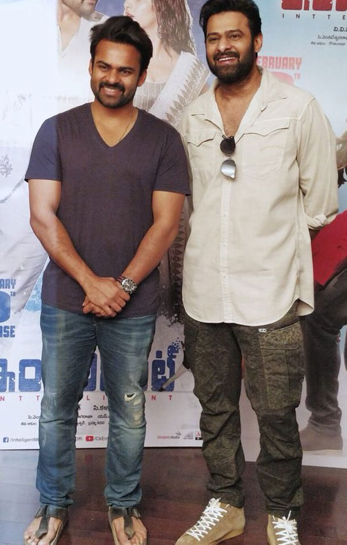 Inttelligent First Single Launched by Prabhas