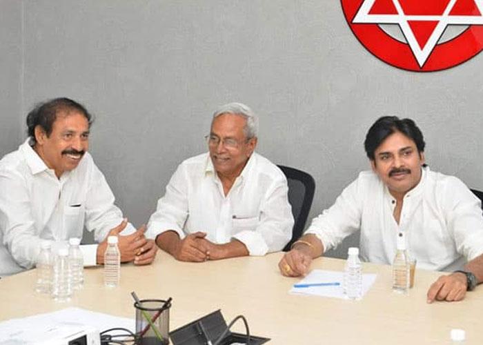 Janasena Announces CPI and CPM MLA and MP Tickets