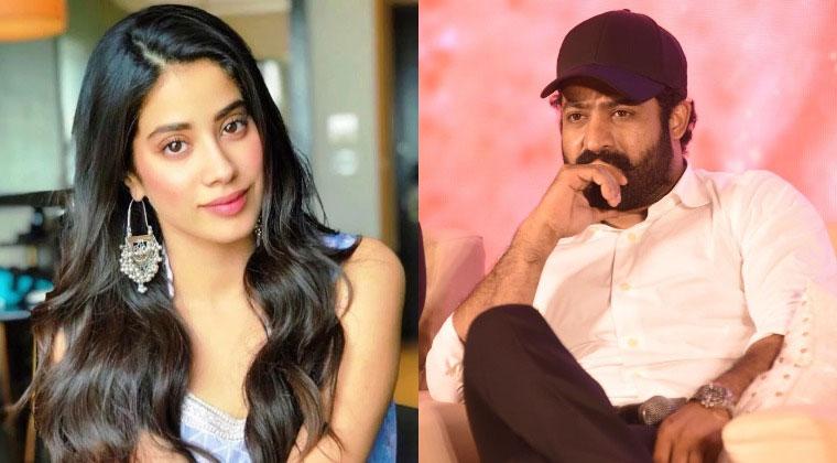 Janhvi Kapoor and Pooja Hegde Opposite NTR?