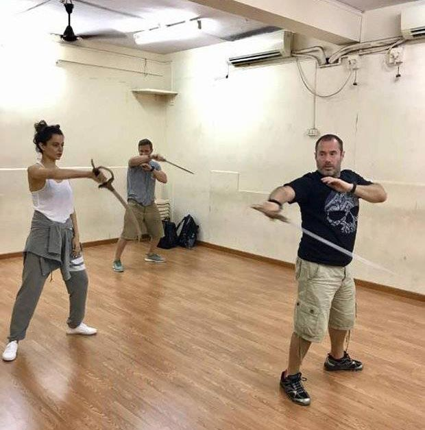 Kangna Ranaut Training For Manikarnika Warfare Scenes