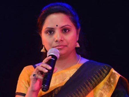 Kavitha finds fault with Chandrababu